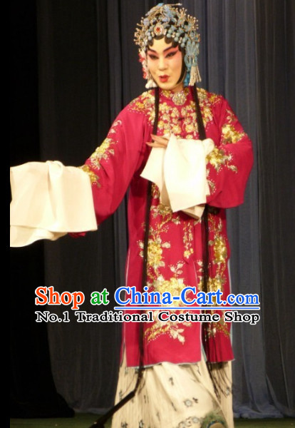 Chinese Traditonal Beijing Opera Long Robe for Women