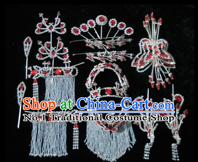 Handmade Chinese Peking Opera Hair Accessories