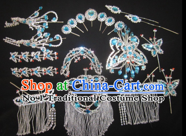 Handmade Traditional Chinese Peking Opera Hair Accessories