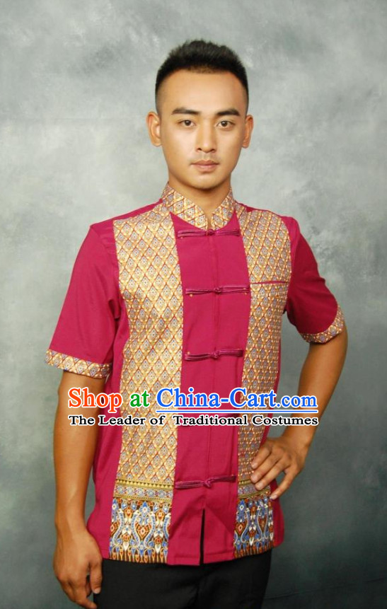 Traditional Thailand Thai Shirt for Men