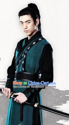 Ancient Korean Fighter Costume for Men
