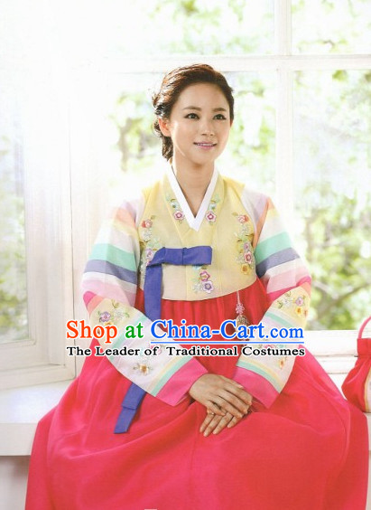 4bd0c21497 Korean Hanbok Traditional Korea Clothing Wedding Dress Birthday ...