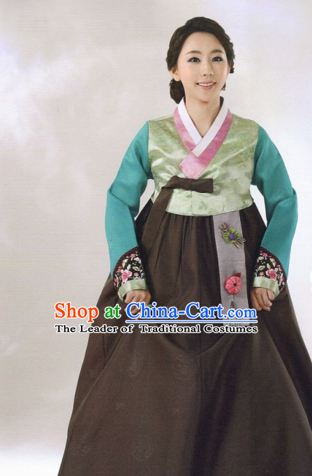 Asia Fashion Korean Tops Korean Suits Han Bok Clothing for Women
