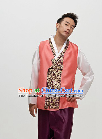 Korean Modern Han Bok Clothing for Men
