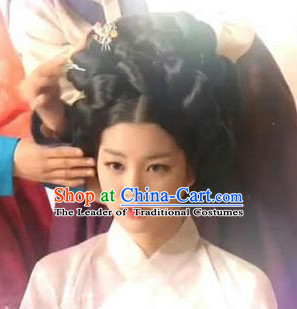Ancient Korean Palace Beauty Black Wig