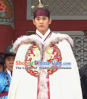 Ancient Korean Emperor Dragon Cape