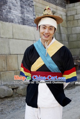 Ancient Korean Dancer Costume for Men