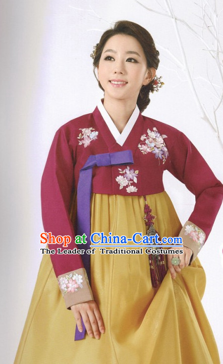 Korean Fashion Hanbok aonline Shopping nd Hair Accessories Complete Set for Ladies
