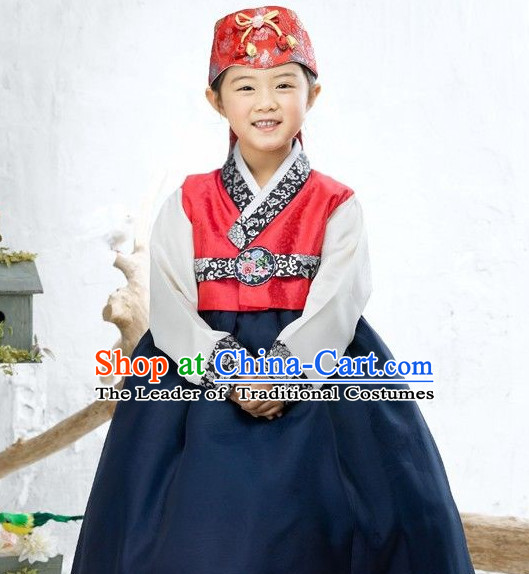 Korean National Hanbok Suit for Girls