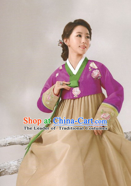 Korean Plus Size Clothing Hanbok Fashion Clothes