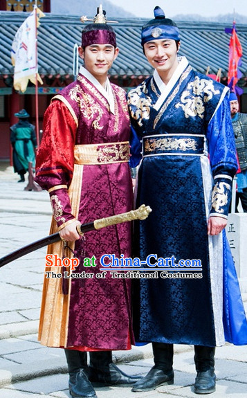 Korean Swordsman and Archer Costumes