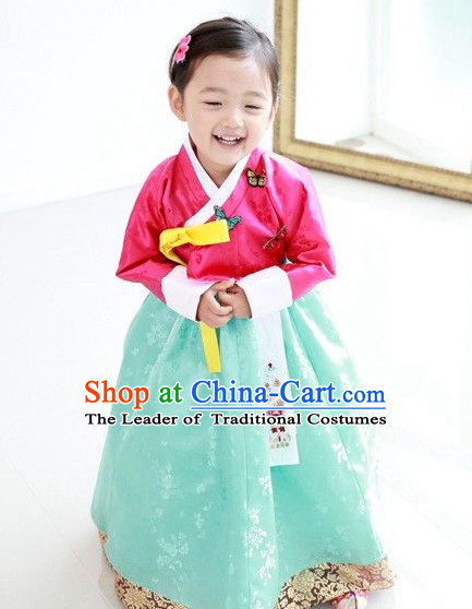 Korean Traditional Han Bok Suit for Girls