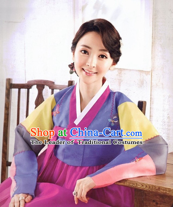 Korean Traditional Hanbok Dress