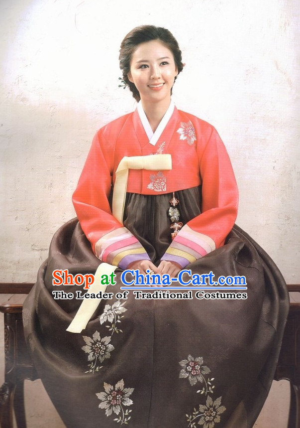 Korean Traditional Dresses Complete Set for Women