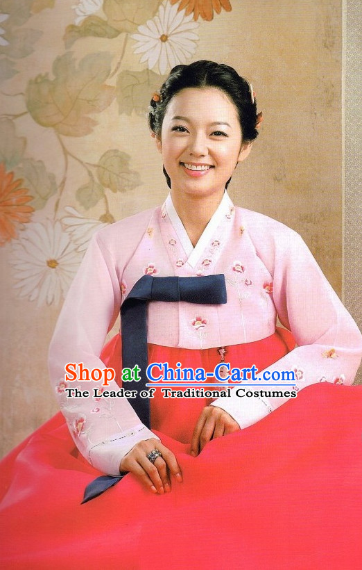Korean Traditional Hanbok Suit for Ladies