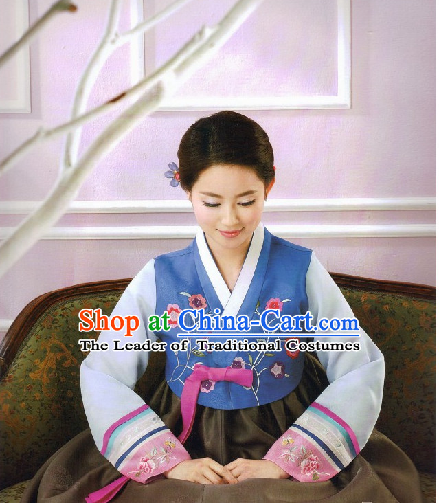 Korean Traditional Wife Clothes for Beauties