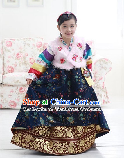 Top Korean Princess Hanbok Suit for Kids