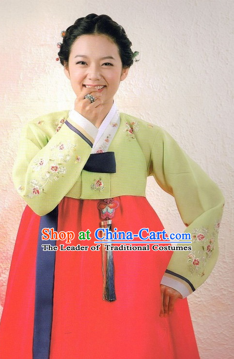 Plus Size Korean Traditional Clothing Hanbok for Ladies