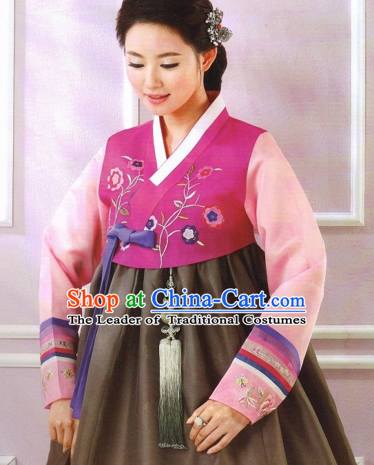 Korean Fashion Hanbok Clothes Complete Set for Women