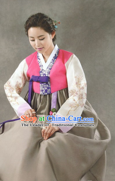 Korean Folk Clothes Complete Set for Women