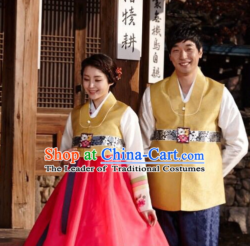 Korean Traditional Clothing Hanbok for Men and Women