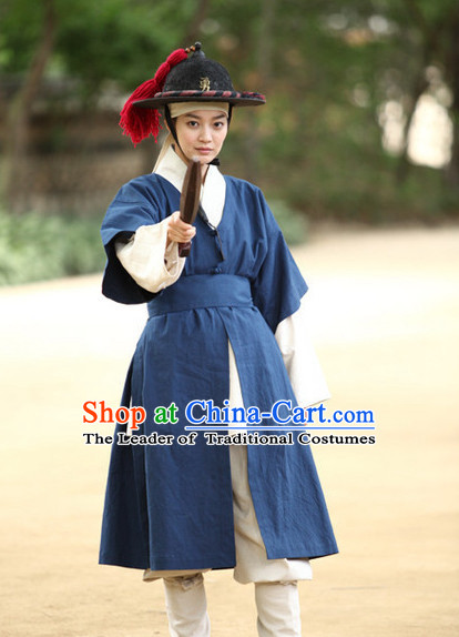Ancient Korean Palace Official Costume
