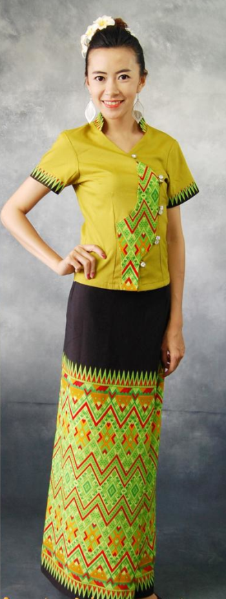 Thailand Traditional National Dresses for Women