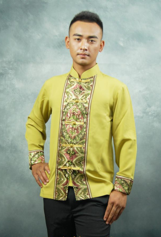 Thailand Traditional Shirt Blouse for Men