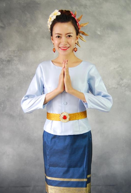 Thailand Traditional National Clothes for Women
