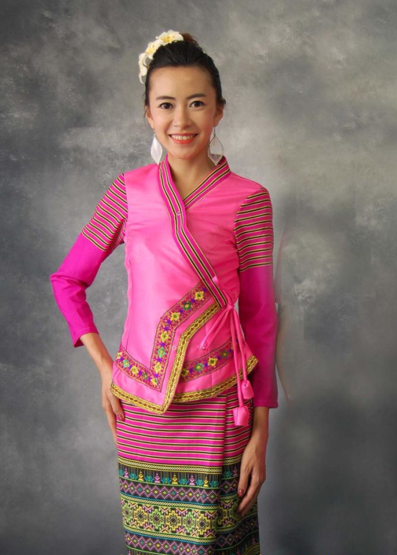 Thailand Traditional National Outfit for Women