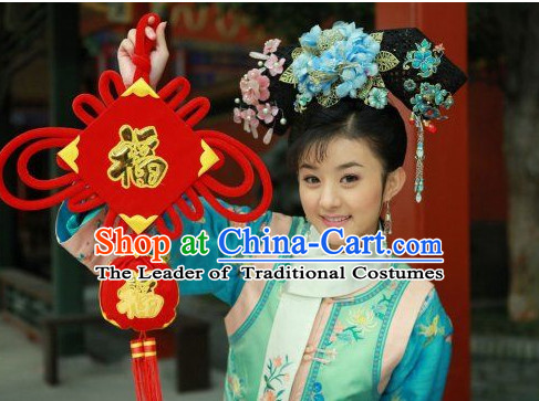 Ancient Qing Princess Hair Accessories