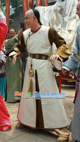 Qing Noblemen Costumes Complete Set for Men