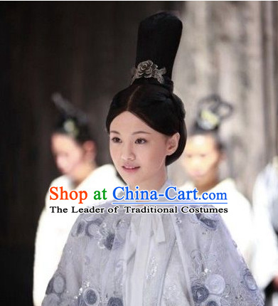 Ancient Noblewoman Black Wigs