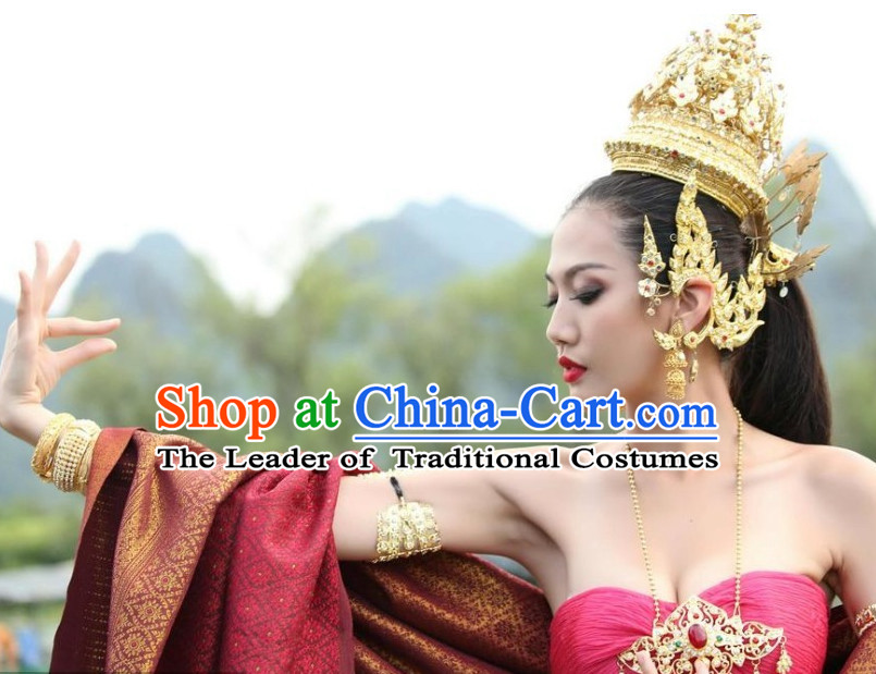 Thailand Gold Crown Hat