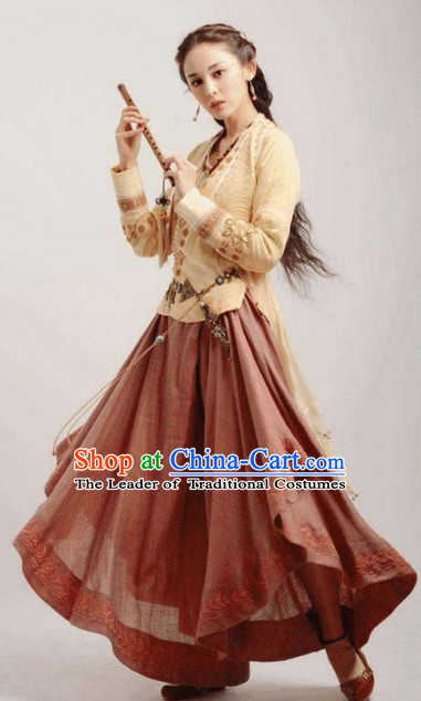 Swordswoman Heroine Hanfu Clothes