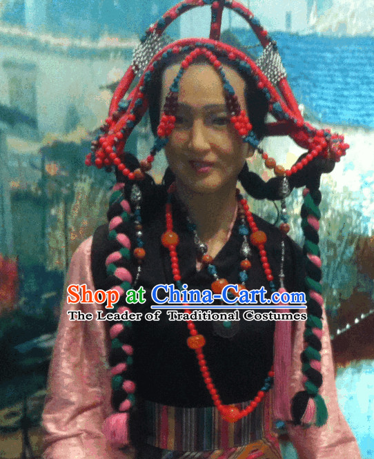 Tibetan Female Hair Accessories