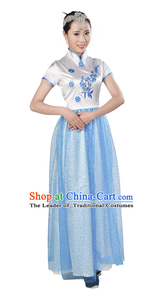 Asian Mandarin Singing Group Costume