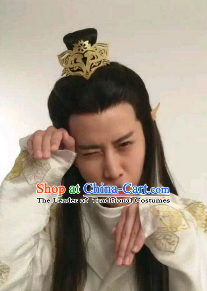 Chinese Opera Fox Prince Male Hair Coronet
