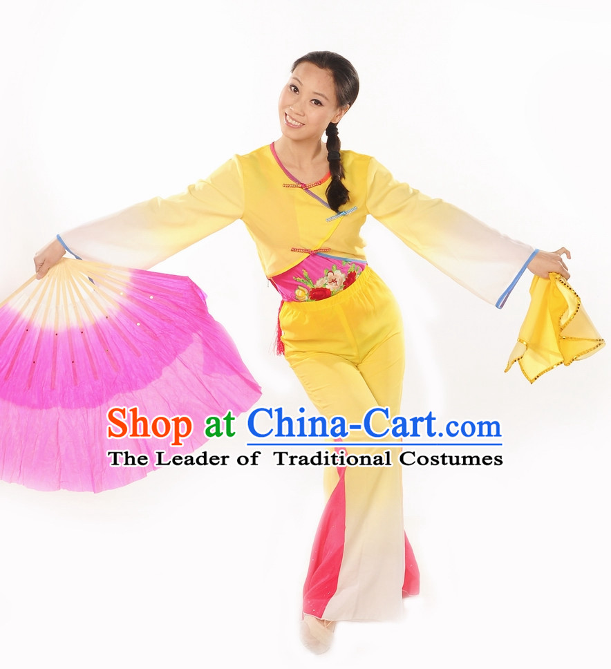 Folk Handkerchief Dance Uniform for Women