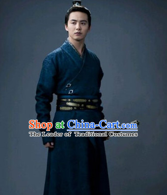 Ancient Asian Swordsman Knight Hanfu Dress Outfits for Men