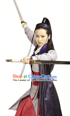 Ancient Asian Female Knight Costumes for Women