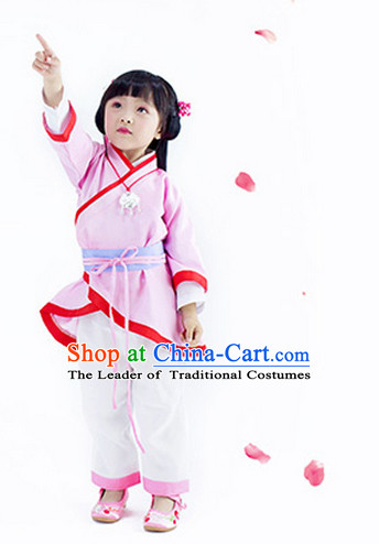 Chinese Classic Hanfu Costumes for Kids