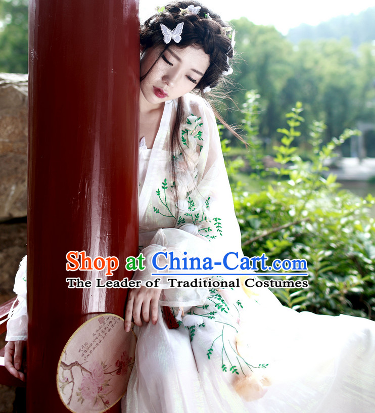 Han Dynasty Chinese Fairy Halloween Costumes Plus Size Dresses online for Women