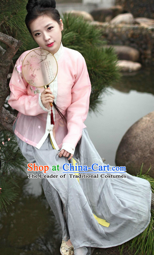 Ancient Asian Hanfu Halloween Costumes Plus Size Costumes online Shopping