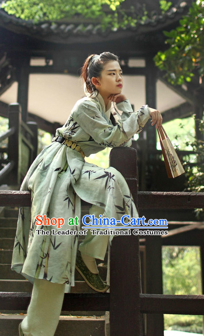 Ancient Chinese Style Bamboo Halloween Costumes Plus Size Costume online Shopping