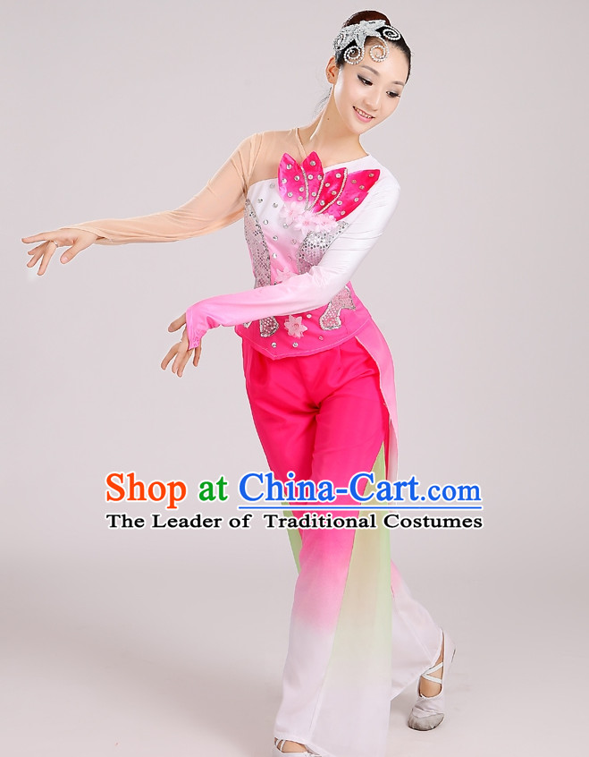 Chinese Folk Dance Costumes for Women