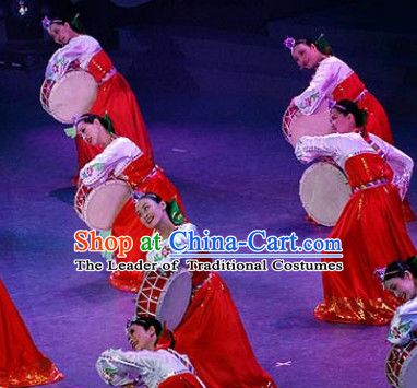 Chinese Korean Dance Woman Costume Dance Costumes