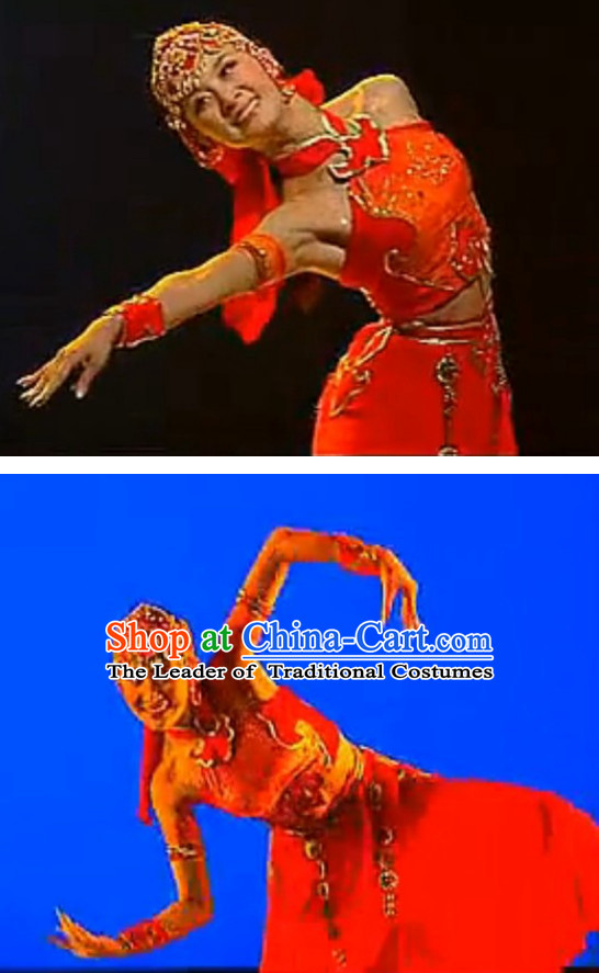 Chinese Competition Dance Woman Costume Dance Costumes