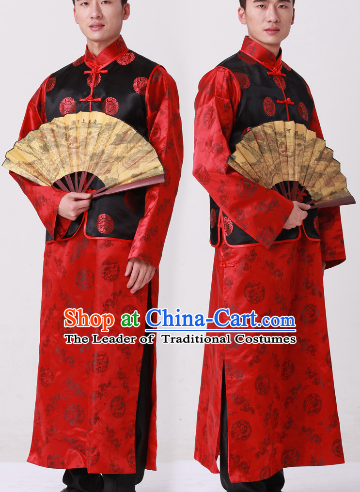 Chinese Classic Bridegroom Wedding Outfits