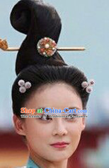 Chinese Ancient Beauty Lady Hair extensions Wigs Fascinators Toupee Long Wigs Hair Pieces and Accessories